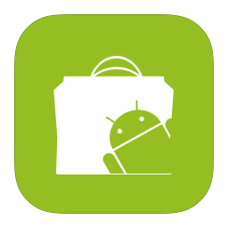 256x256px size png icon of MetroUI Google Android Market