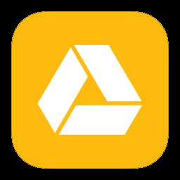256x256px size png icon of MetroUI Google Drive Alt
