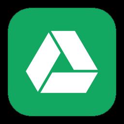 256x256px size png icon of MetroUI Google Drive