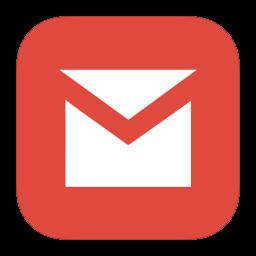 256x256px size png icon of MetroUI Google Gmail