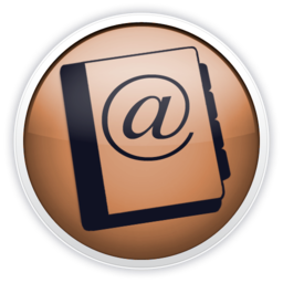 256x256px size png icon of addressbook