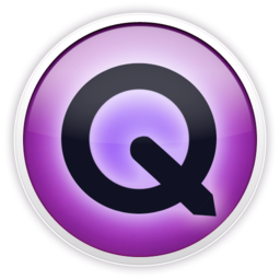 256x256px size png icon of quicktime