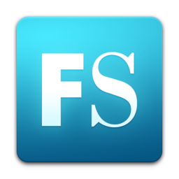 256x256px size png icon of FontLab Studio