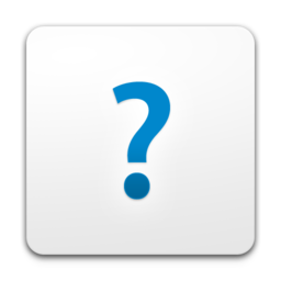 256x256px size png icon of Help