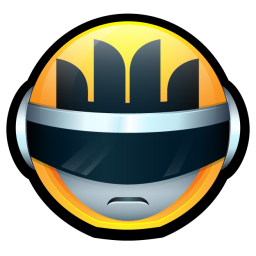 256x256px size png icon of Bioman Avatar 4 Yellow