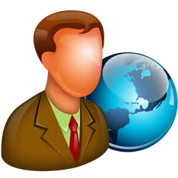 256x256px size png icon of Global Manager