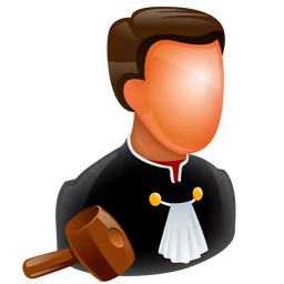256x256px size png icon of Judge