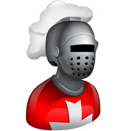 256x256px size png icon of Knight