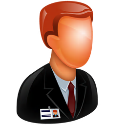 256x256px size png icon of Manager