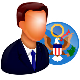 256x256px size png icon of Official