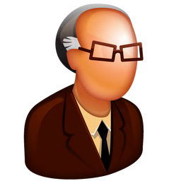 256x256px size png icon of Old Boss