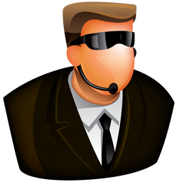 256x256px size png icon of Security Guard