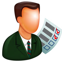 256x256px size png icon of Supervisor