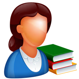 256x256px size png icon of Teacher