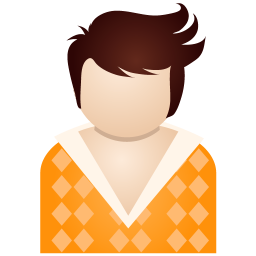 Orange Boy Vector Icons Free Download In Svg Png Format