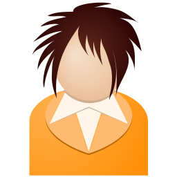 Orange Girl Vector Icons Free Download In Svg Png Format