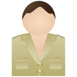 256x256px size png icon of Guardia Civil Without Uniform