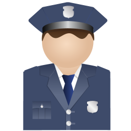 256x256px size png icon of Policeman Uniform