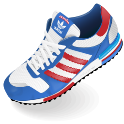 256x256px size png icon of Adidas Shoe