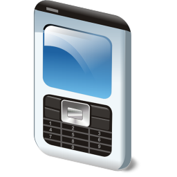 256x256px size png icon of Phone