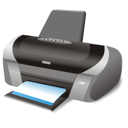 256x256px size png icon of Printer