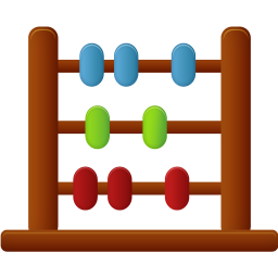 256x256px size png icon of Abacus