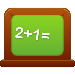 256x256px size png icon of Blackboard