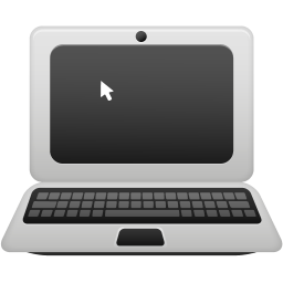 256x256px size png icon of Laptop