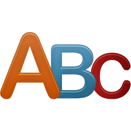 256x256px size png icon of Letters