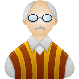 256x256px size png icon of Professor