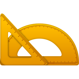 256x256px size png icon of Rulers