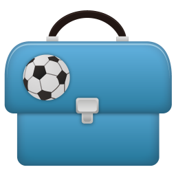 256x256px size png icon of Schoolbag boy