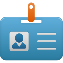 256x256px size png icon of Student id