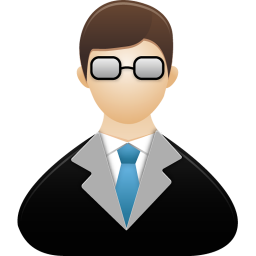 256x256px size png icon of Teacher male