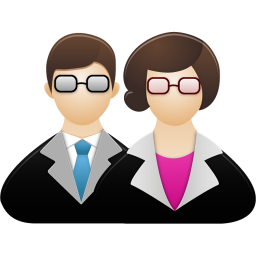 256x256px size png icon of Teachers