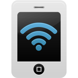 Smartphone Wifi 2 Vector Icons Free Download In Svg Png Format