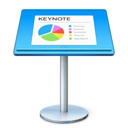 256x256px size png icon of Keynote