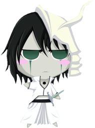 256x256px size png icon of Bleach Chibi Nr  13 Ulquiorra by rukichen