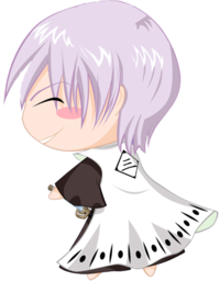 256x256px size png icon of bleach Chibi Nr  8 Ichimaru by rukichen