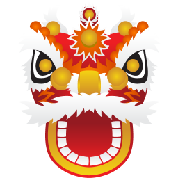 256x256px size png icon of dragon