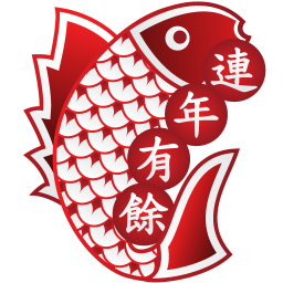 256x256px size png icon of fish