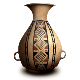 256x256px size png icon of Diaguita Ceramic Bowl 3