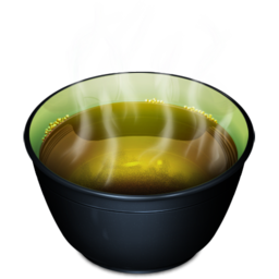 256x256px size png icon of Cup tea hot