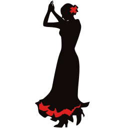 256x256px size png icon of dancer 2