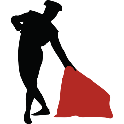 256x256px size png icon of matador