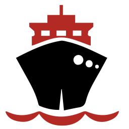 256x256px size png icon of ship