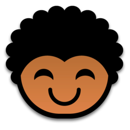 256x256px size png icon of happy 512x512