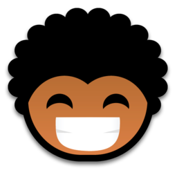 256x256px size png icon of laugh 512x512