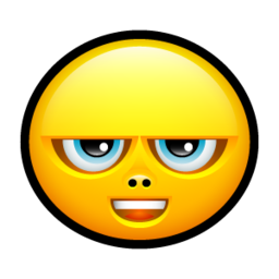 256x256px size png icon of Smiley complain 2