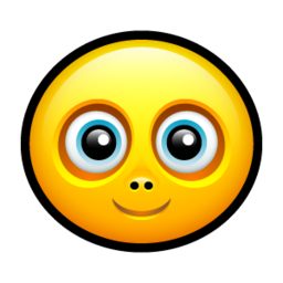 256x256px size png icon of Smiley